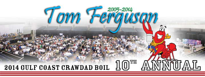 Tom Ferguson 2014 Gulf Coast Crawdad Boil - 10th Annual