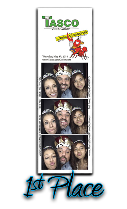 2014 Tasco Auto Color Crawdad Boil Photo Booth 1st Place WInner
