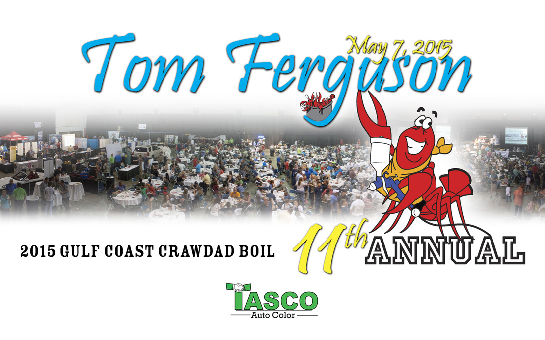 11th Annual Tom Ferguson Gulf Coast Crawdad Boil